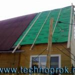 Пароизоляция крыши дома пленкой Eurovent Super