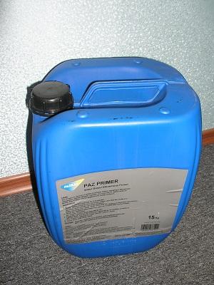 Канистра грунтовки битумной ПазПраймер для гидроизоляции жидкой резиной однокомпонентной
