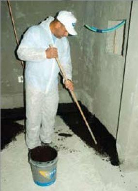Устройство гидроизоляции пола ванной комнаты