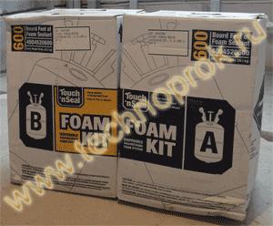 Безвоздушная установка пенополиуретана Foam Kit из США