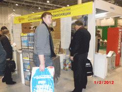 Технопрок и СовТех, Москва и Новосибирск, Жидкая резина и пенополиуретан на СтройСиб 2012