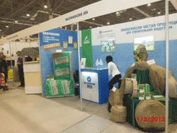 СтройСиб 2012 утеплитель лён, но гидроизоляция жидкая резина - это Технопрок