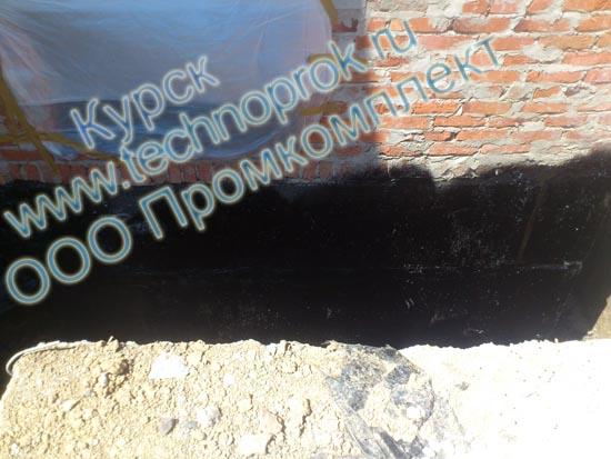 ООО Промкомплект гидроизоляция фундамента жидкой резиной Технопрок в Курске