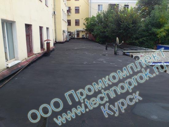 Ремонт и гидроизоляция кровли жидкой резиной Технопрок в Курске ООО Промкомплект