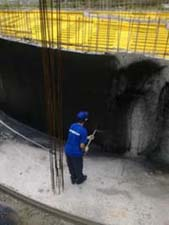 Быстрая гидроизоляция фундаментов в РСО-Алания