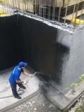 Вертикальная гидроизоляция фундамента во Владикавказе