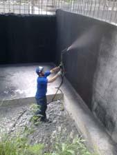 Бесшовная гидроизоляция жидкой резиной в Северной Осетии