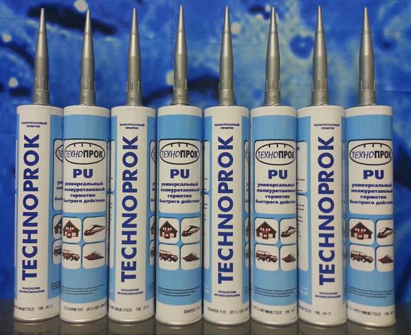 В Химках можно купить полиуретановый герметик TECHNOPROK PU made in Франция