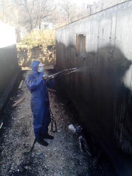 Гидроизоляция фундамента в Пятигорске жидкой резиной Технопрок