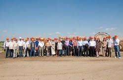 Участники конференции Аквастоп 2014 посетили 23 мая на стройплощадку станции метро Спартак в Москве