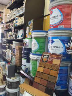 Полиуретановые материалы и жидкая резина в магазине на Новорижском шоссе