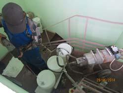Безвоздушная установка высокого давления для двухкомпонентного полиуретана Inopaz