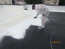 Мастика полиуретановая Инопаз как декоративное покрытие и защита от УФ