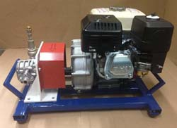Гудронатор для праймирования перед укладкой рулонной гидроизоляции