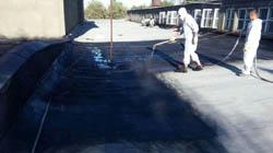 Нанесение жидкой резины Технопрок специалистами ООО Универсал на крышу